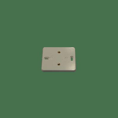 Muurplaat electrowit enkelv. 2230860WI