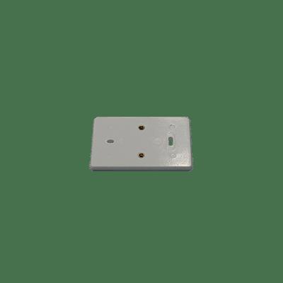 Muurplaat polarwit 2v comb. 2230861PW