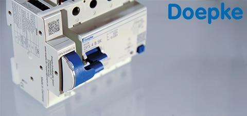 Aardlekschakelaars op afstand bedienen met de Doepke DFA 3