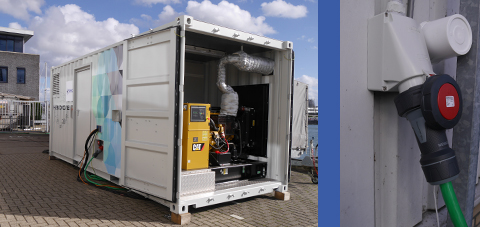 Hybride Microgrid Energiecontainer